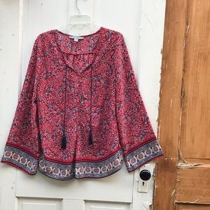 By Design peasant top Size XL